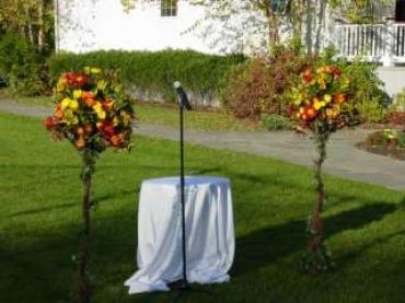 Fall Garden Ceremony
