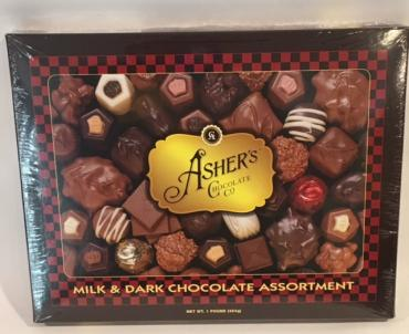 Asher\'s Milk and Dark Chocolate Assortment