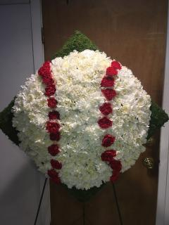 Baseball Floral Tribute