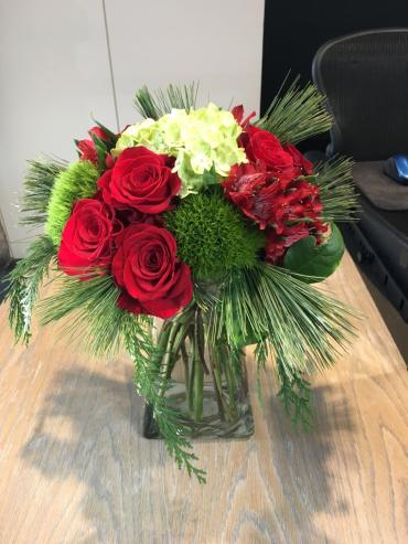 Holiday Hand Tied bouquet