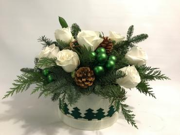 Keepsake Box- Holiday Green