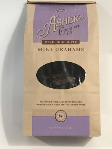 ASHER\'S Dark Chocolate Covered Grahams