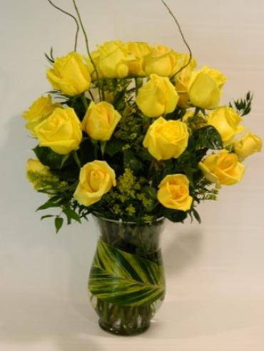 Two Dozen roses- Yellow